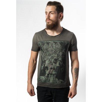 Camiseta Estonada Skull Lab King Skull