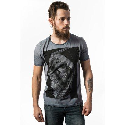 Camiseta Estonada Skull Lab Skull Portrait