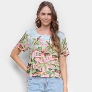 Camiseta Farm Baga Feminina