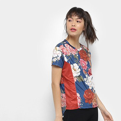 Camiseta Farm Estampada Feminina