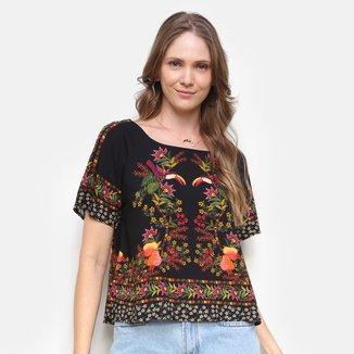Camiseta Farm Tropicaliente Feminina