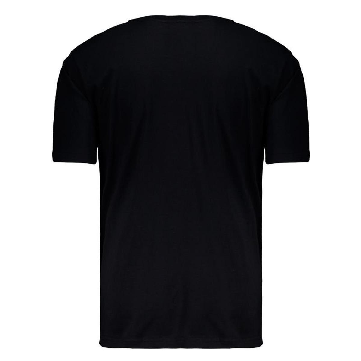 Camiseta Fatal Bloom Estampada - Preto