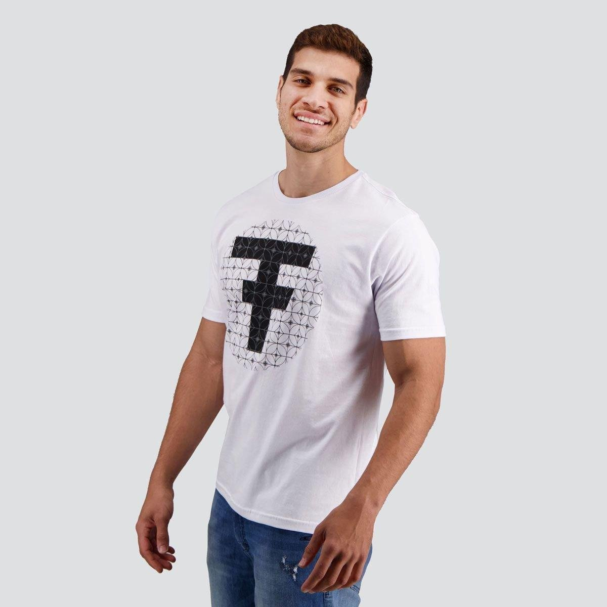 Camiseta Fatal Circle Brand - Branco