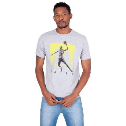 Camiseta Fatal Estampada Basketball