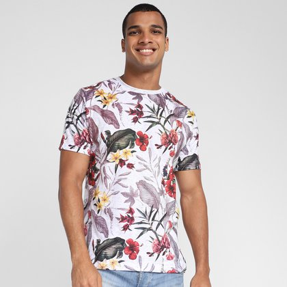 Camiseta Fatal Flowers Masculina