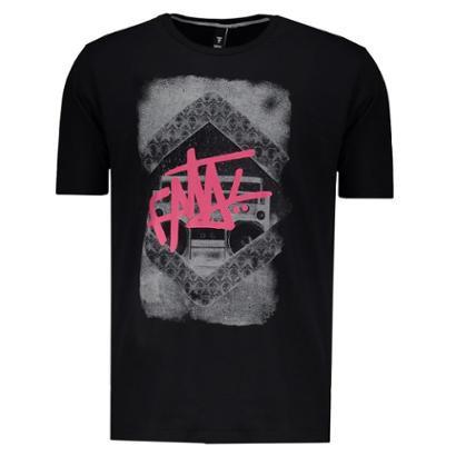 Camiseta Fatal Radio Skull Masculina