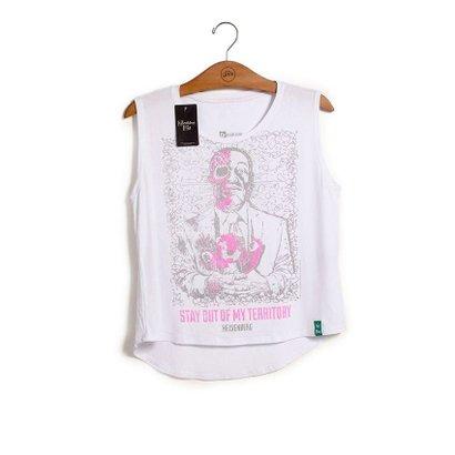 Camiseta Feminina Breaking Bad Dead Gus