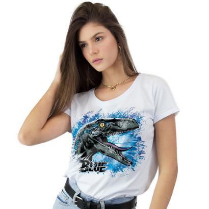 Camiseta Feminina Jurassic World