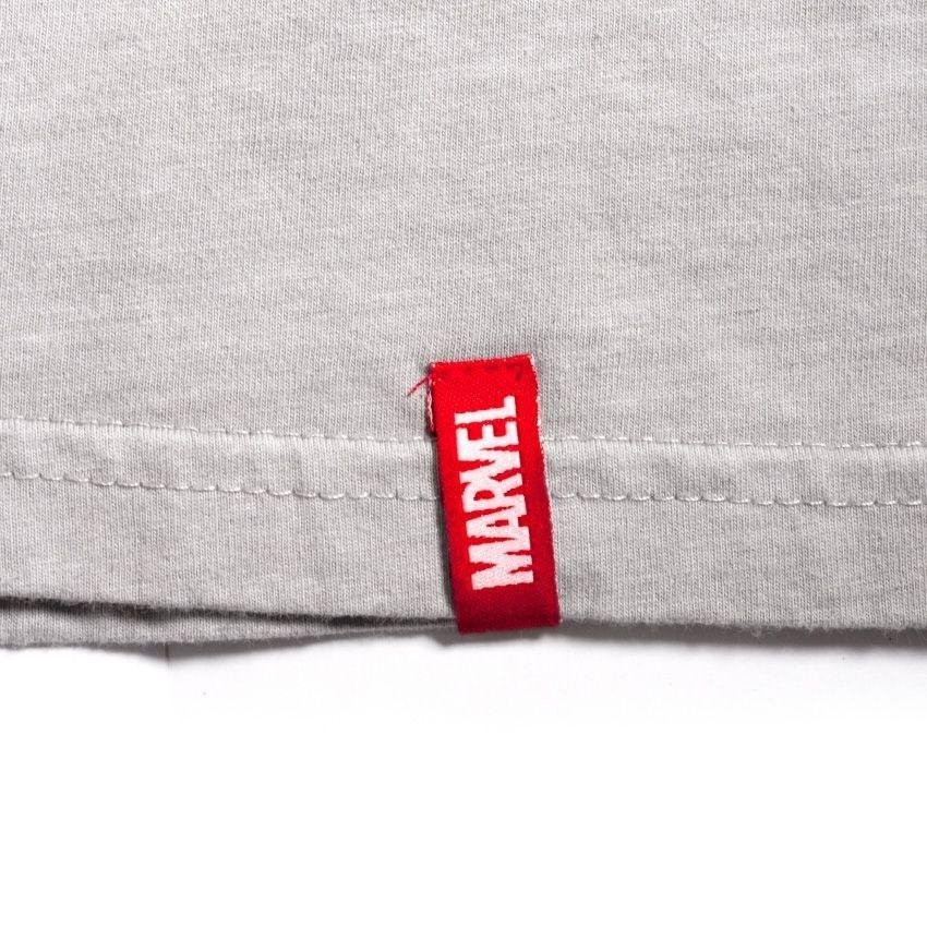 c18e3f8aed Camiseta Feminina Marvel Homem de Ferro - Era de Prata - Cinza ...