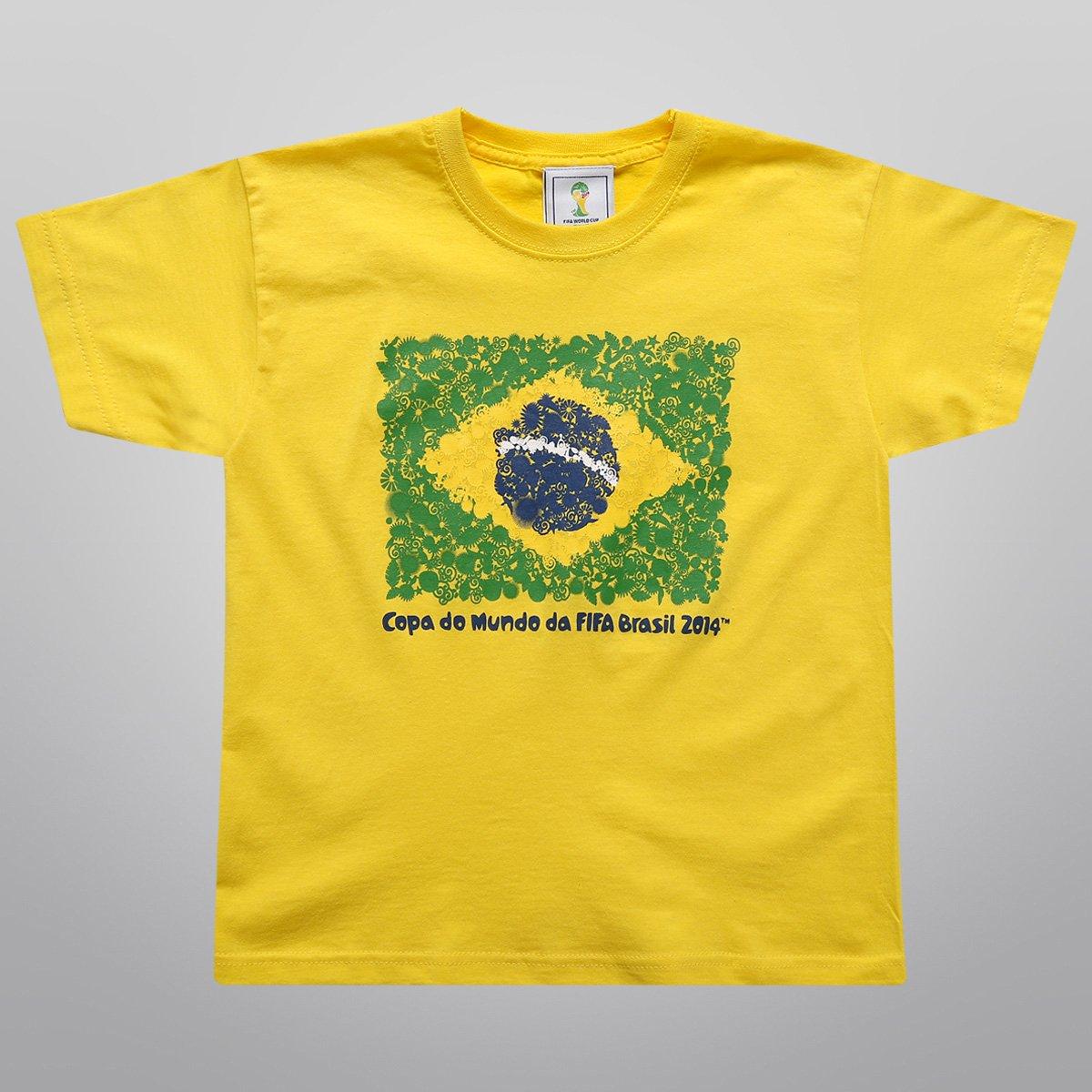 Camiseta FIFA Bandeira Infantil - Compre Agora  1d04caa9fd4d7