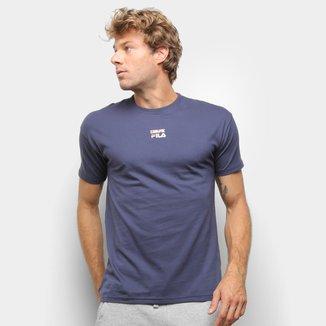 Camiseta Fila Acqua Flag Masculina