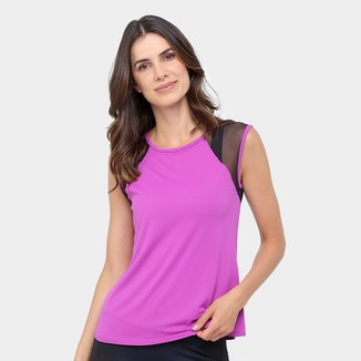 Camiseta Fila Crochet Feminino