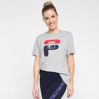 Camiseta Fila Graphic Feminina
