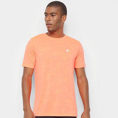 Camiseta Fila Jacquard Camo Masculina