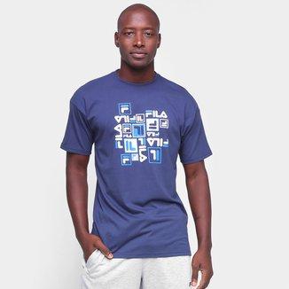 Camiseta Fila Puzzle Masculina
