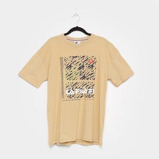 Camiseta Fila Texture Masculina