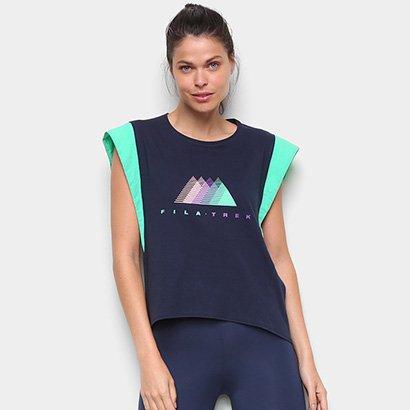 Camiseta Fila Trapezium Trek Feminina