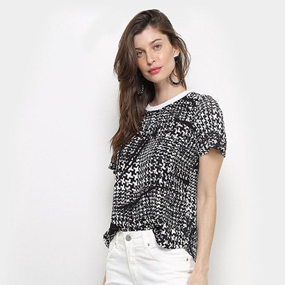 Camiseta Forum Estampada Feminina