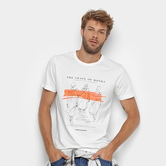 Camiseta Forum Shape Of Monks Masculina