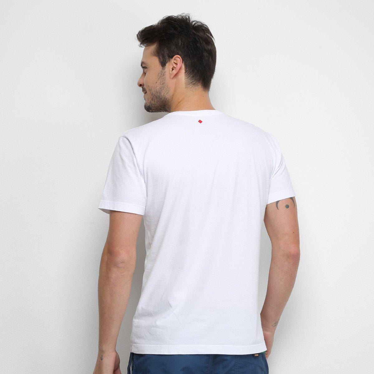 Camiseta Forum Transcendent Art Masculina - Branco