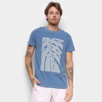 Camiseta Foxton Flora Manga Curta Masculina