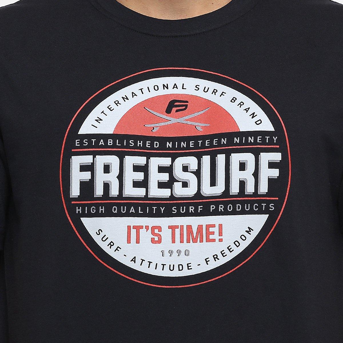 0c9a88121d6ef Camiseta Free Surf Basica Attitude  Camiseta Free Surf Basica Attitude ...