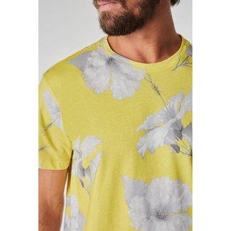 Camiseta Full Print PF Hibisco VJ Reserva Masculina