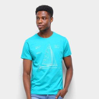 Camiseta Gajang Veleiro Masculina