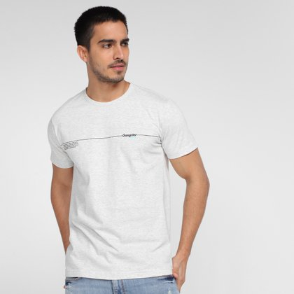 Camiseta Gangster Estampada Masculina