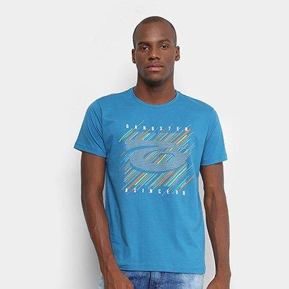 Camiseta Gangster Estampado Masculina
