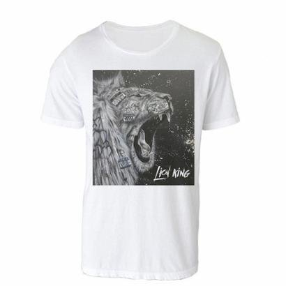Camiseta Gola Básica Lion King Masculina