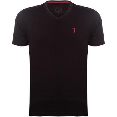 Camiseta Gola V Básica Aleatory Masculina