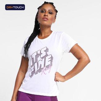 Camiseta Gonew Dry Touch It's Fine Feminina
