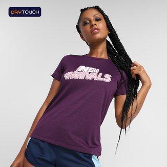 Camiseta Gonew Dry Touch New Arrivals Feminina