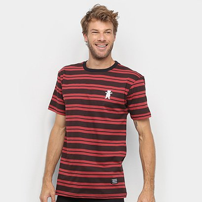 Camiseta Grizzly Bear Stripes Masculina