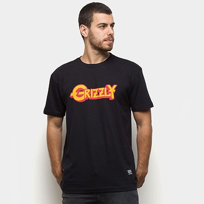Camiseta Grizzly Grizzfest Masculina