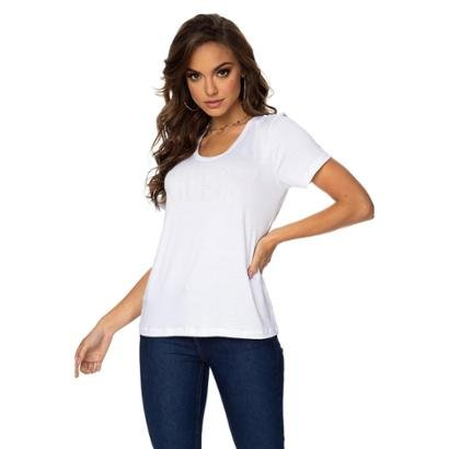 Camiseta Guess Termocolante Feminina