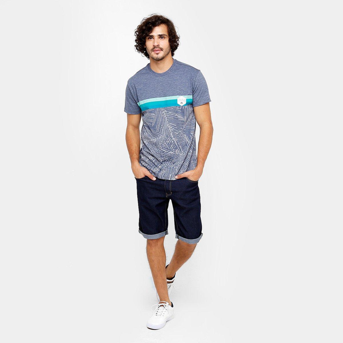 Camiseta Hang Loose Esp Palms Masculina - Cinza - Compre Agora  8c56852cdf7ec