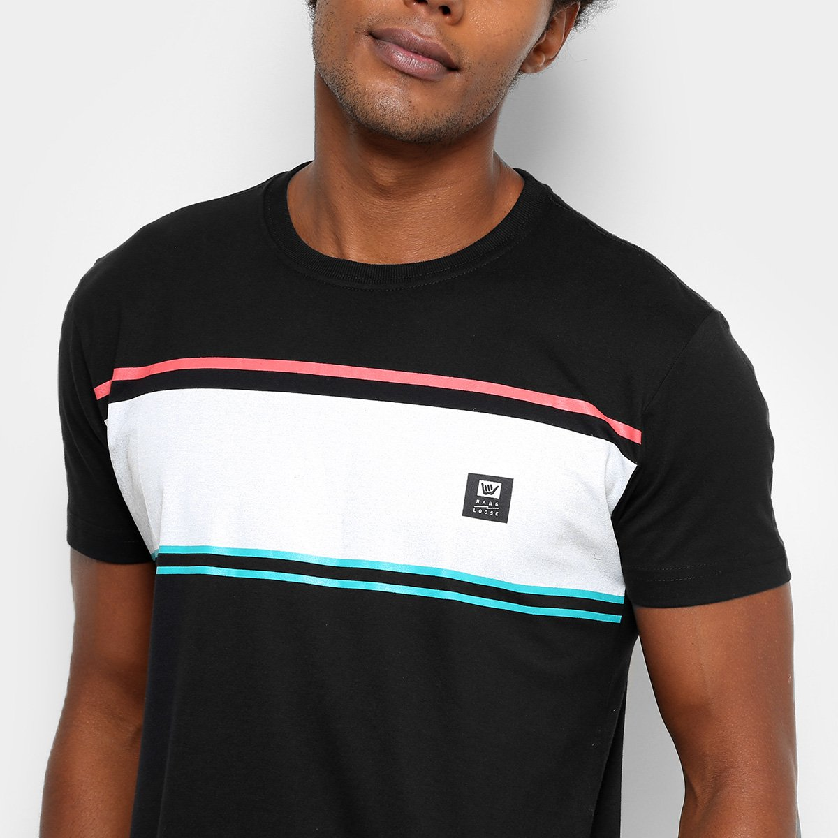 98dd5f756f Camiseta Hang Loose Silk Stripe Masculina - Compre Agora