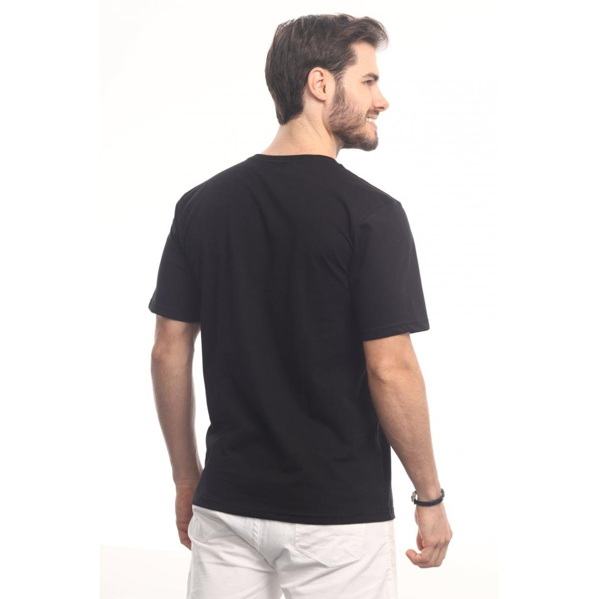 Camiseta Head Play New York City Masculina - Preto