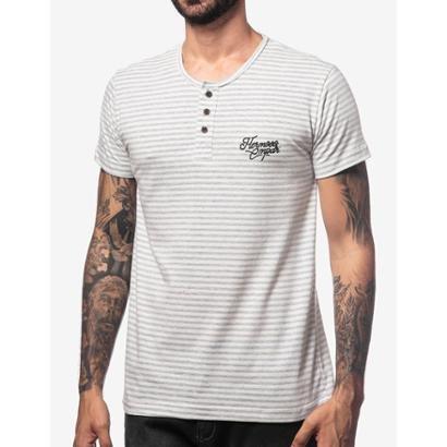 Camiseta Henley Colorado Hermoso Compadre Masculina
