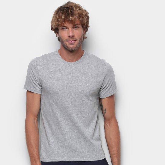 Camiseta Hering Básica Slim Masculina - Mescla