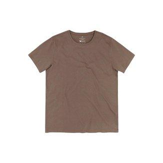 Camiseta Hering Manga Curta Algodão Pima Masculina