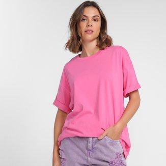 Camiseta Hering Oversized Feminina