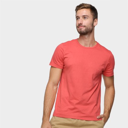 Camiseta Hering Slim Básica Masculina