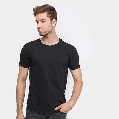 Camiseta Hibou Long Básica Masculina