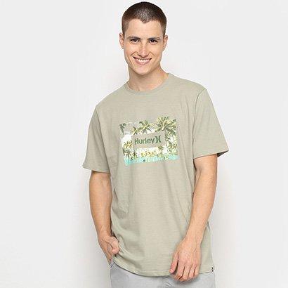 Camiseta Hurley Silk Boarders Masculina