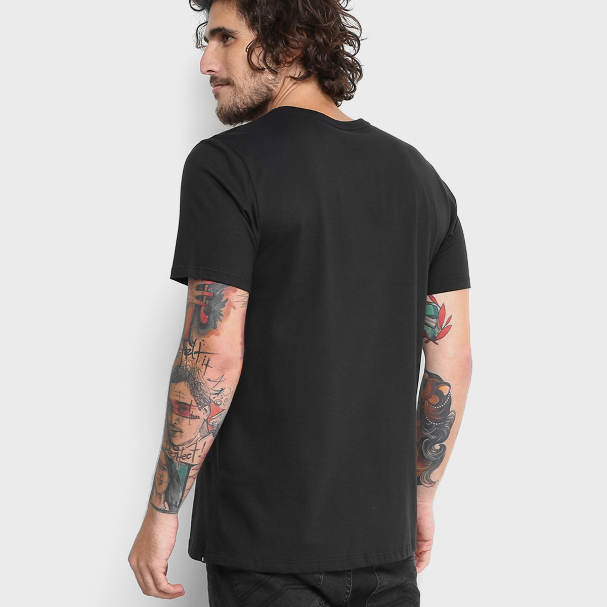 Camiseta Hurley Silk Color Cmyk Masculina - Compre Agora  2720f6ed0e34c