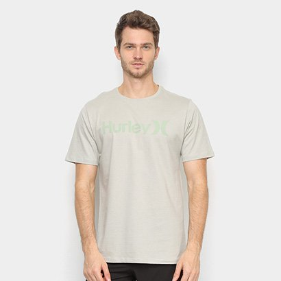 Camiseta Hurley Silk O&O Solid Masculina