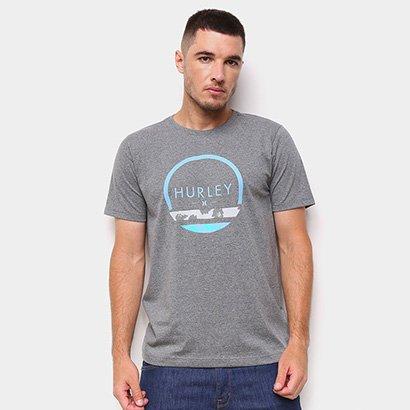 Camiseta Hurley Silk Olas Masculina
